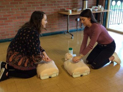 Essential First Aid training at Resource Centre