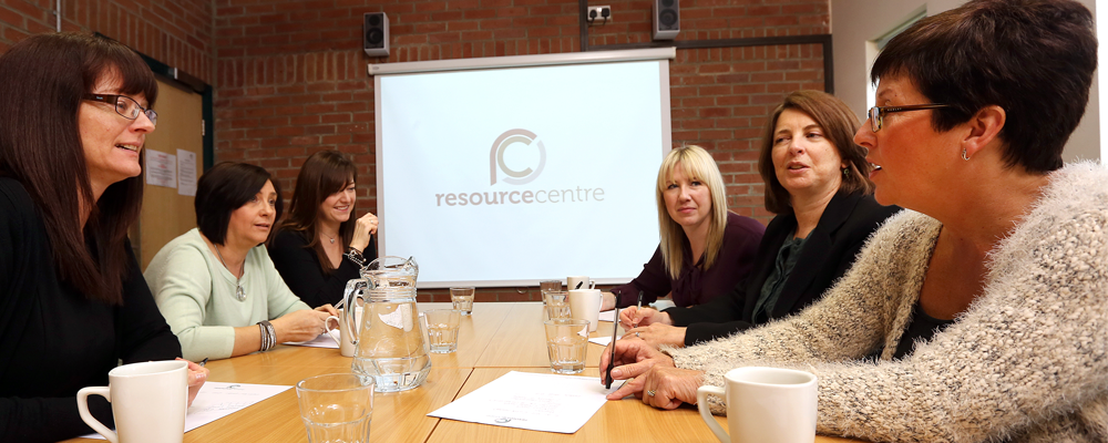 Meeting space at the Resource Centre