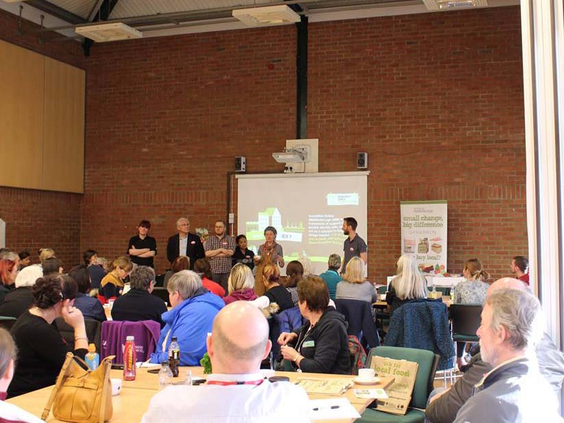 Incredible turnout for Middlesbrough community food gathering